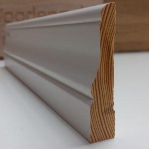 Põrandaliist e. sokliliist mänd, valge, PL-3 | Põliist PL 4 1