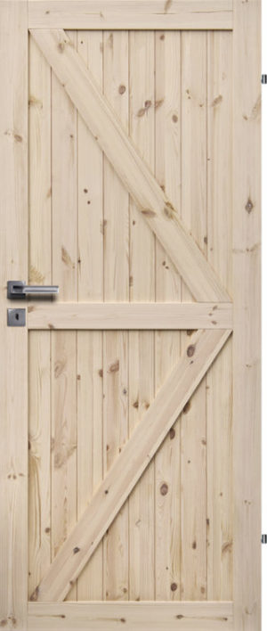 Siseuks mänd loft-8 | Männiuks Pinedoor loft 8