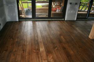 Tammelaud-põrand,poolmatt õli+vaha,Antsu kodu
